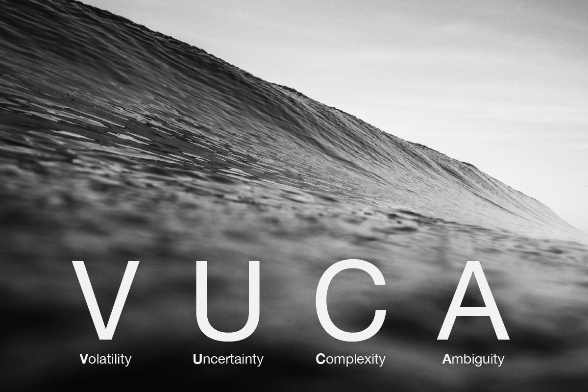 Aprende a surfear el entorno VUCA en intraDISRUPT